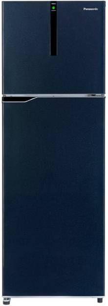 Panasonic NR-BG311VSS3 307 L 3 Star Inverter Frost Free Double Door Refrigerator