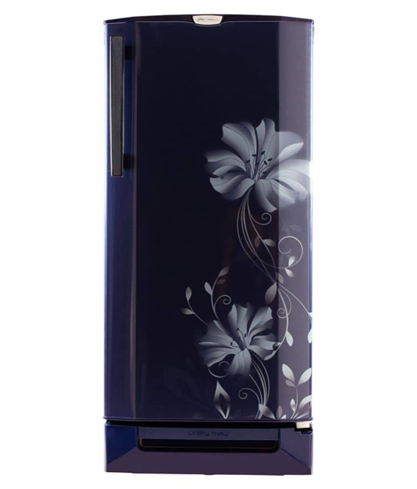 Godrej RD Edge Pro 190 CT 4.2 190 L 4 Star Direct Cool Single Door Refrigerator (Iris)