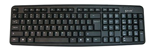 Zazz (ZKB0046) USB Wired Keyboard