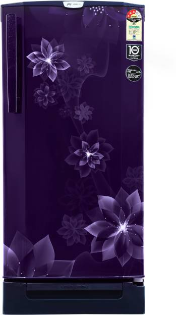 Godrej RD Edge Pro 205 TDF 3.2 190 L 3 Star Direct Cool Single Door Refrigerator (Jazz)