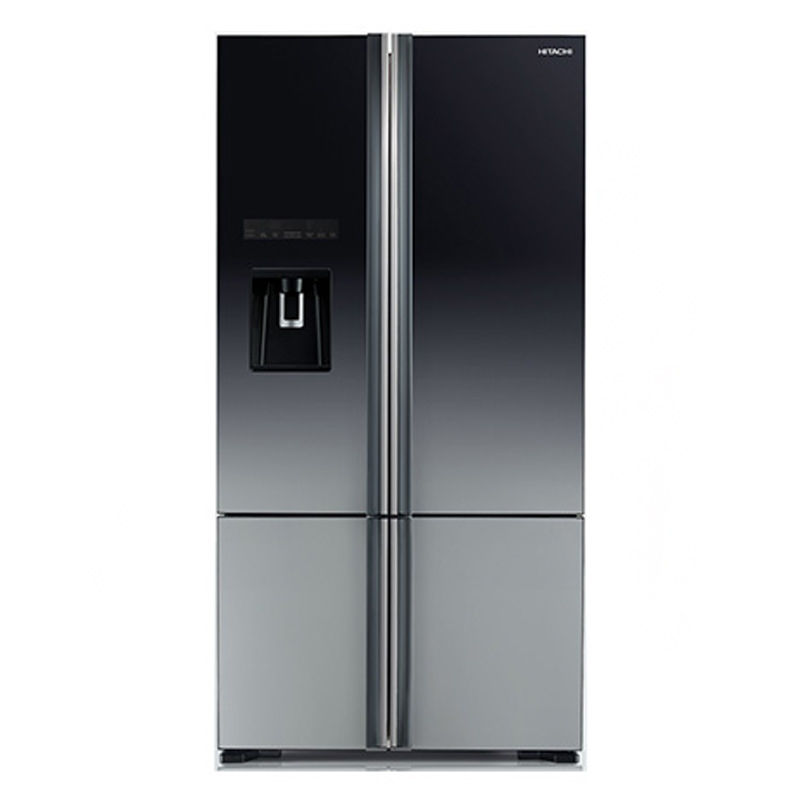 Hitachi R-WB730PND6X-XGR 647 L Inverter Frost Free Side By Side Door Refrigerator