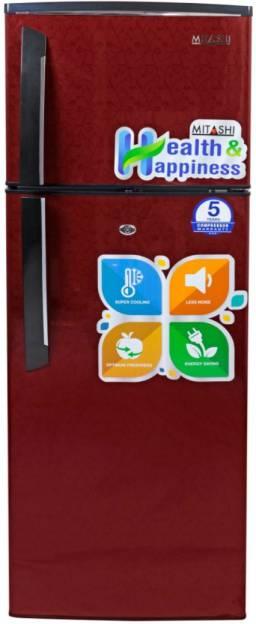 Mitashi MiRFDDM240V25 3 Star 240L Double Door Refrigerator