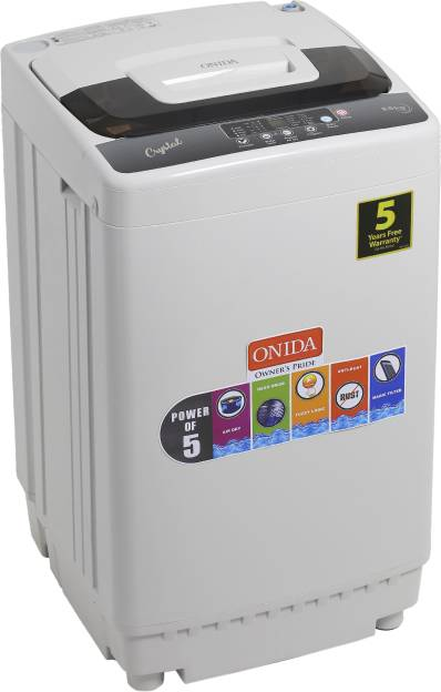 Onida 6.5kg Fully Automatic Top Load Washing Machine (T65CGD)