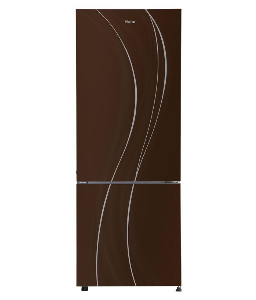 Haier HRB-3654PCG-R 3 Star 345L Double Door Refrigerator