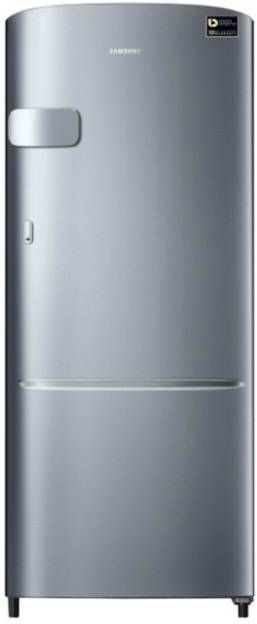 Samsung RR20N1Y2ZS8-HL/NL 192 L 3 Star Inverter Direct Cool Single Door Refrigerator (Elegant Inox)