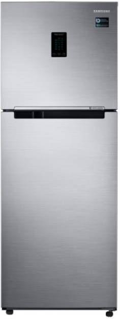 Samsung RT34M5518S8/HL 321 L 3 Star Inverter Frost Free Double Door Refrigerator (Elegant Inox)