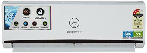 Godrej GIC 12 RINV 3 RWQH 1 Ton 3 Star inverter Split Air Conditioner