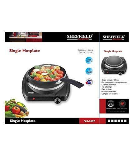 Sheffield Classic SH-2007 1200W Induction Hot Plate