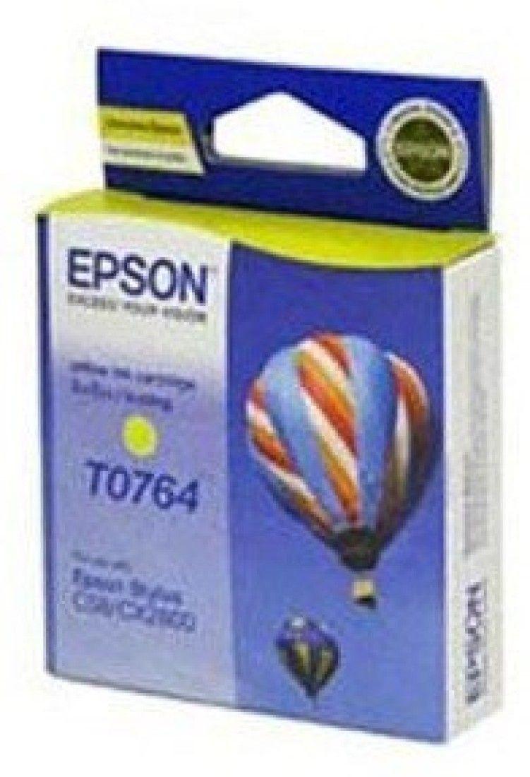 Epson T0764 Yellow Ink Cartridge