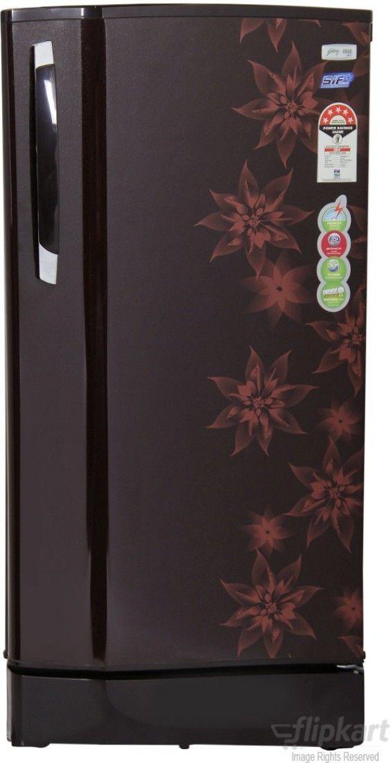Godrej GDE 195 BXTM 185L 5S Single Door Refrigerator (Berry Bloom)