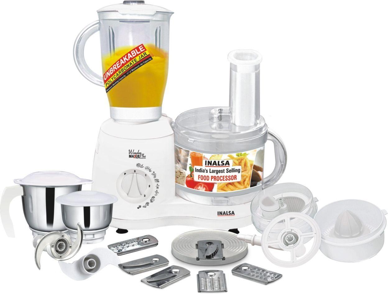 Inalsa Wonder Maxie Plus Food Processor