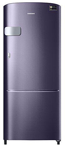 Samsung RR20M2Y2XUT/RR20M1Y2XUT/HL 192 L 5 Star Inverter Direct Cool Single Door Refrigerator (Pebble Blue)