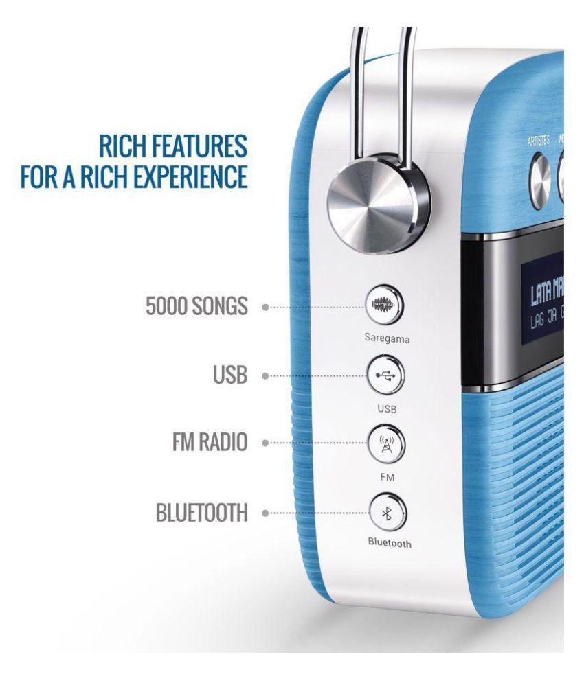 Saregama Carvaan Digital Audio Player (with FM) Price in