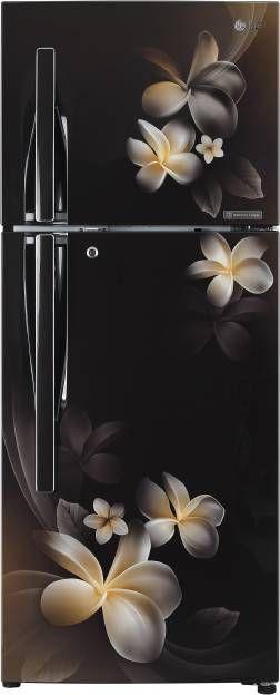 LG GL-T292RHPN 260 L 4 Star Inverter Frost Free Double Door Refrigerator (Plumeria)