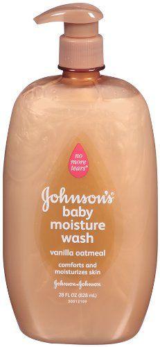 Johnson's Baby Moisture Wash With Vanilla Oatmeal 828 ml