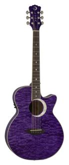 Luna Fauna Series Eclipse Folk Acoustic-Electric Guitar