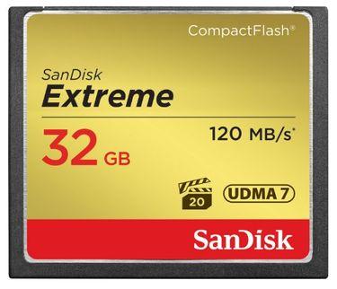 Sandisk Extreme CF 32GB (UDMA 7) 120 Mbps Memory Card