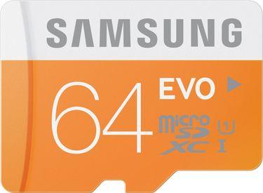 Samsung Evo 64GB MicroSDXC Class 10 (48MB/s) UHS-1 Memory Card