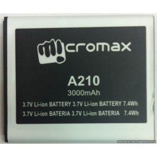 Micromax A210 battery