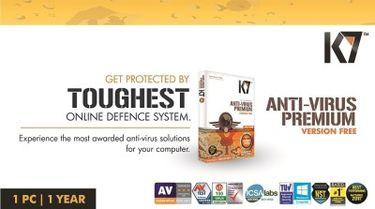 K7 Anti-Virus Premium 1 PC 1 Year Activation Card