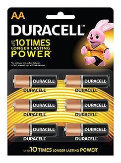 Duracell AA Alkaline Battery (6 Pcs)