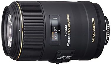 Sigma 105 mm  F2.8 EX DG OS HSM Lens (For Nikon)