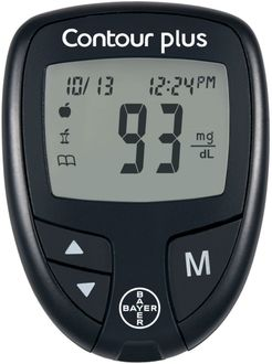 Bayer Contour Plus Glucose Monitor (with 50 Strips)