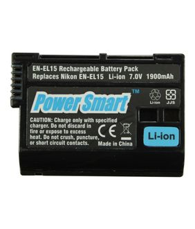 Power Smart EN-EL15 Li-ion Rechargeable Battery