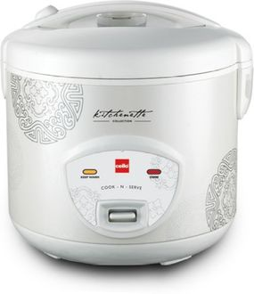 Cello Cook-N-Serve 200 1 Litre Electric Rice Cooker