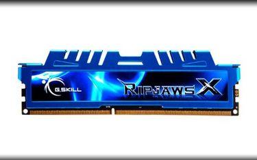 G.Skill RipjawsX (F3-1600C9Q-32GXM) DDR3 32 GB PC RAM