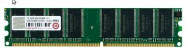 Transcend (JM388D643A-5L) 1GB PC RAM