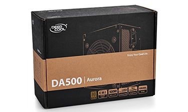 Deepcool DA500 80 plus 500W PSU