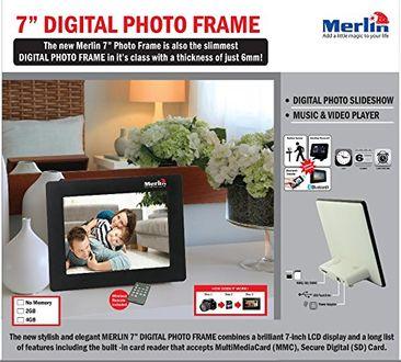Merlin 7 inch Digital Photo frame