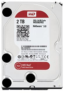 WD Red NAS (WD20EFRX) 2TB Internal Hard Disk