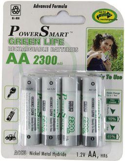 Power Smart FTT-12 AA Rechargeable Batteries (4Pcs)