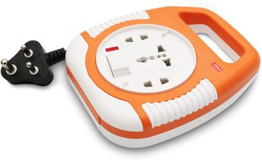GM Square 3 Pin 3 Strip Surge Protector