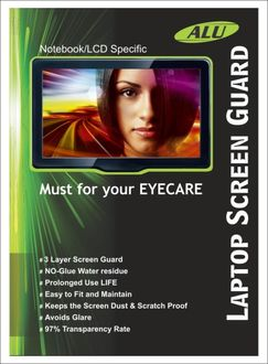 Alu 15.6 Inch Screen Guard