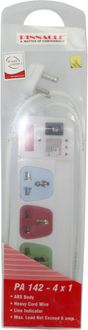 Pinnacle PA142 4 Strip Surge Protector (5 Mtr)