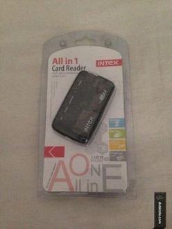 Intex All in One Mini Card Reader
