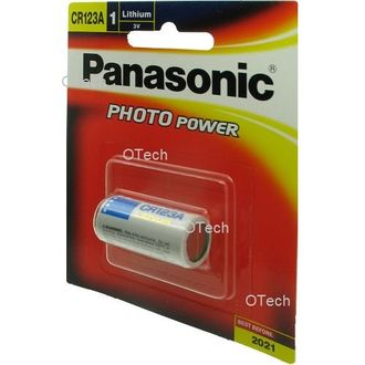 Panasonic Photo Power CR123A Rechargeable Battery