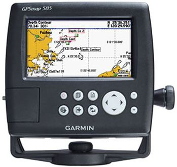 Garmin GPS Map 585 Marine GPS Navgation Device