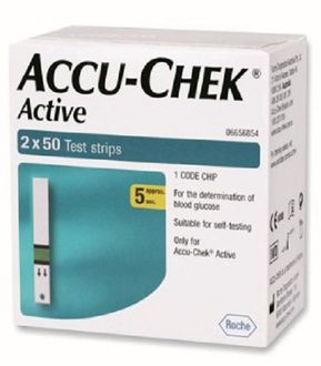 Accu-Chek Active 100 Strips (Strips Only)