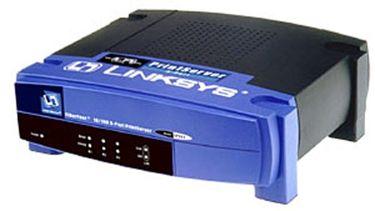 Cisco Linksys EPSX3 Print Server