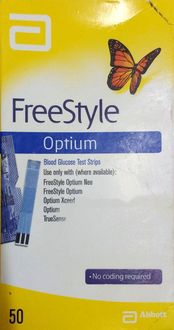 Abbott FreeStyle Optium 50 Strips