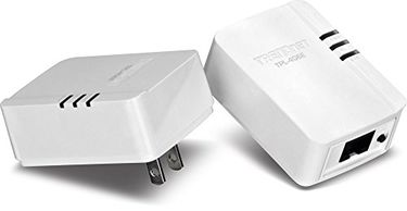 TRENDnet (TPL-406E2K) 500 Mbps Compact Powerline Ethernet Adapter