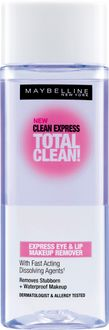 Maybelline Clean Express Total Clean Express Eye and Lip Makeup Remover 70 ml