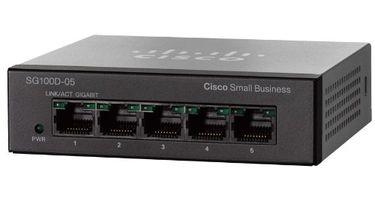 Cisco SG100D-05 5-Port Switch