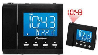 Magnasonic MAG-MM176K with Projection Clock AM/FM Radio