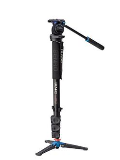 Benro A38FDS2 Monopod with 3-Leg Locking Base and S2 Head