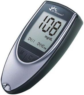 Dr. Morepen BG03 Glucometer (With 100 Test Strips)